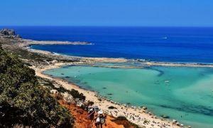Бухта Балос – место слияния трех морей на Крите