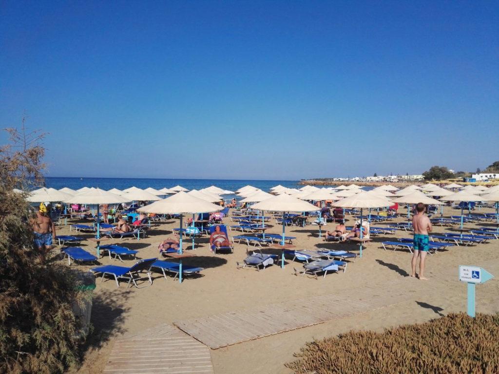 Пляж рядом с отелем Косман 3*, Крит
