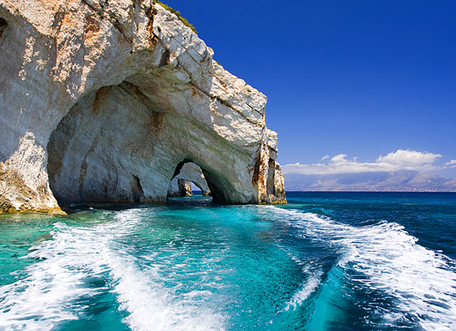 Голубые пещеры Закинфа