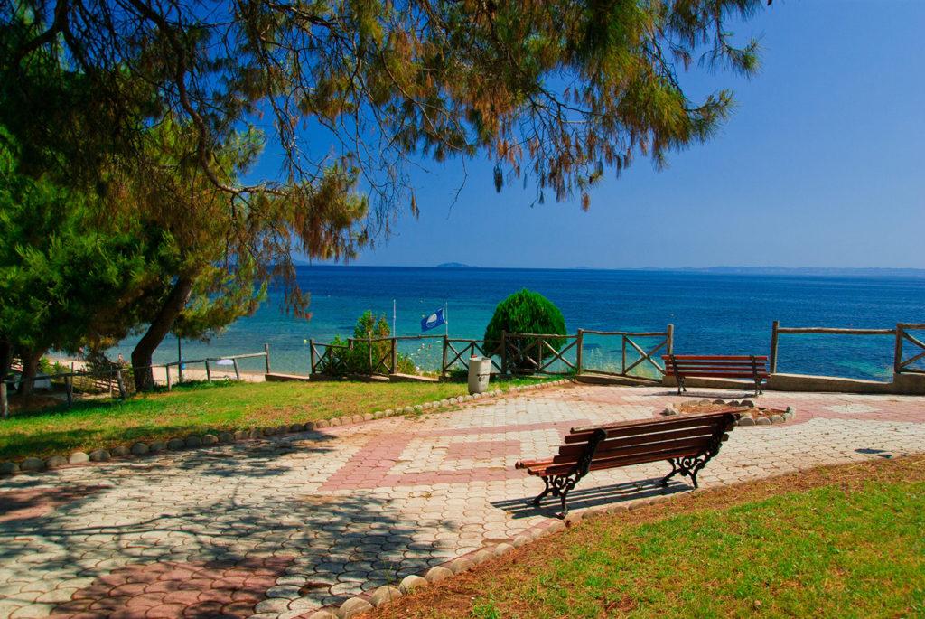 Курорт Метаморфоси на Эгейском море, Халкидики