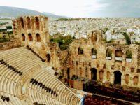 Театр Диониса, Акрополь