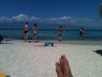 Кристиана Бич отель, пляж