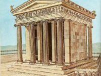 Храм Ники Аптерос в Акрополе, реконструкция