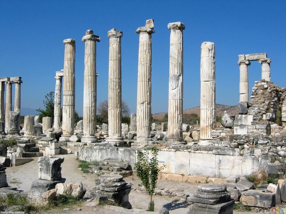 Храм Афродиты, Акрополь
